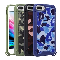 iPhone 8P/7P/6P New HJD Hybrid Case Camouflage Style